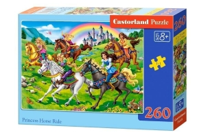 Puzzle 260 Princess Horse Ride CASTOR