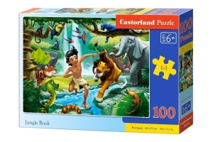Puzzle 100 Jungle Book CASTOR