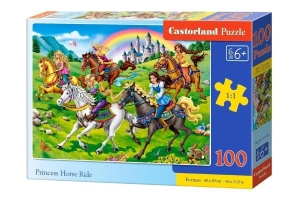 Puzzle 100 Princess Horse Ride CASTOR