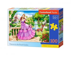 Puzzle 100 Princess in the Royal Garden CASTOR