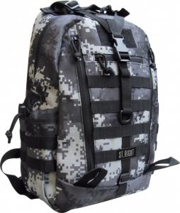 Plecak 1-komorowy Military Black Digital Camo