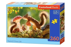 Puzzle 260 Squirrels Forest Life CASTOR