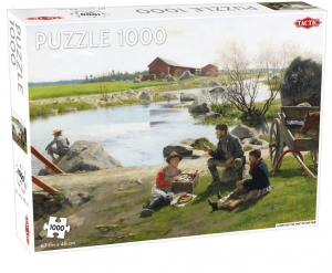 Puzzle 1000 The A Rest on the Way
