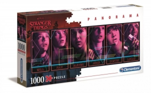 Puzzle 1000 Panorama Netlix Stanger Things