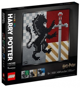 Lego ART 31201 Harry Potter Herby Hogwartu