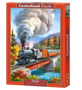 Puzzle 500 Train Crossing CASTOR
